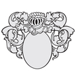 aristocratic emblem No20 vector image