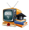 education channel vector image