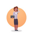 african american business woman icon lady vector image
