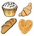 baking vector image