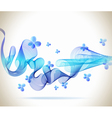 blue abstraction vector image vector image