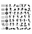 Sport icon vector image vector image
