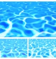 Pool Water vector image