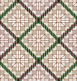 Pattern decorative lattice vector image