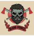 beard power vector image