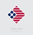 Company logo design elements Abstract logotype vector image