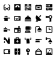 Home Appliances Icons 4 vector image