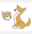 Cartoon Dingo vector image