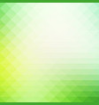 light green shades rows of triangles background vector image