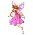 Pixie Pink vector image