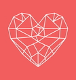 HEART SHAPE11 vector image vector image