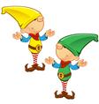 Elf Mascot Confused vector image