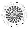 mandala of motion vector image