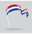 Dutch wavy flag vector image