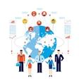 Partnership Teamwork Successful business team vector image vector image