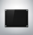 Black plate Stock vector image