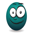 emotions eggs coloured happy vector image
