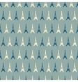 Eiffel Tower seamless pattern vector image