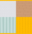 patchwork textile brick texture seamless clothes vector image