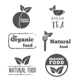 Set of logo labels badges emblems and logotype vector image