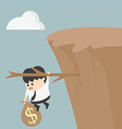 Fiscal cliff vector image