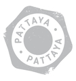Pattaya stamp rubber grunge vector image
