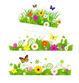 Spring Flower Bouquet vector image