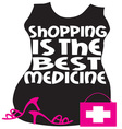 Shopping Best Medicine vector image
