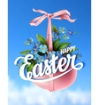 Easter spring vector image