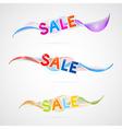 wave sale vector image