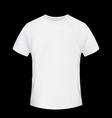 White T-shirt Stock vector image