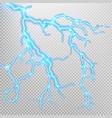 Electric lighting effect EPS 10 vector image