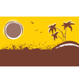 tropical backgroundAbstract image vector image