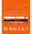 transport infographics vector image
