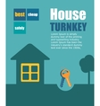 turnkey vector image