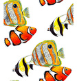 Fish Pattern3 vector image