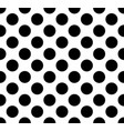 dots seamless background vector image