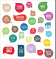 modern sale stickers collection vector image