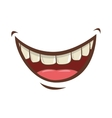 mouth cartoon icon vector image
