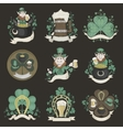 Set of pictures for St Patricks Day vector image