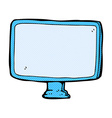 comic cartoon computer screen vector image