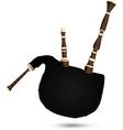 Biniou koz - traditional French bagpipe vector image