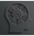 mechanism in head vector image
