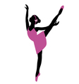 ballerina 7 vector image