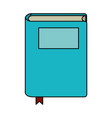 book closed isolated vector image