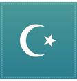Islam flat icon vector image
