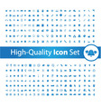 Media icon set High vector image