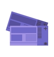 plane tickets vector image