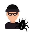 avatar man thief vector image