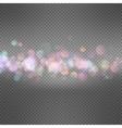 Glitter vintage lights background EPS 10 vector image